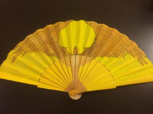 Yellow Bird Fan